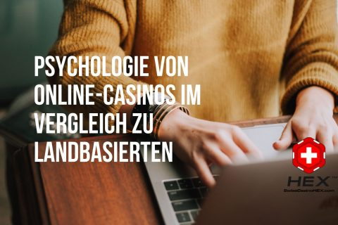 Psychologie von Online Casinos im Vergleich zu landbasierten