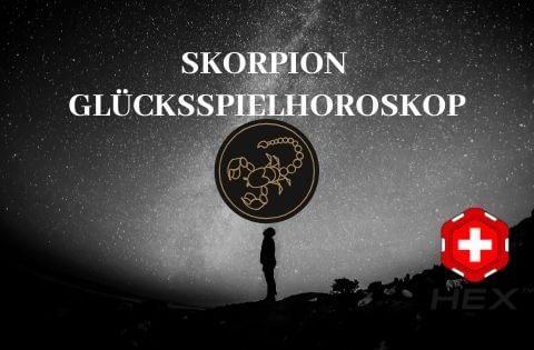 Skorpion Glücksspielhoroskop
