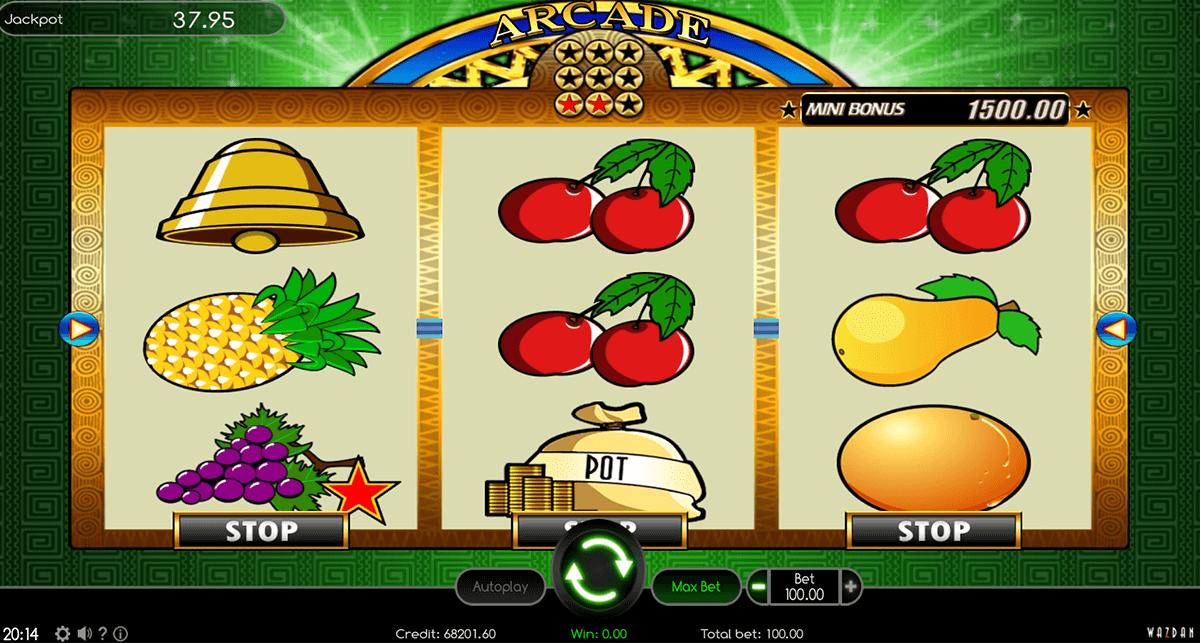 arcade wazdan