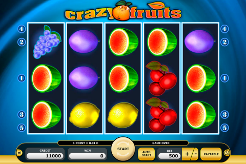 crazy fruits kajot