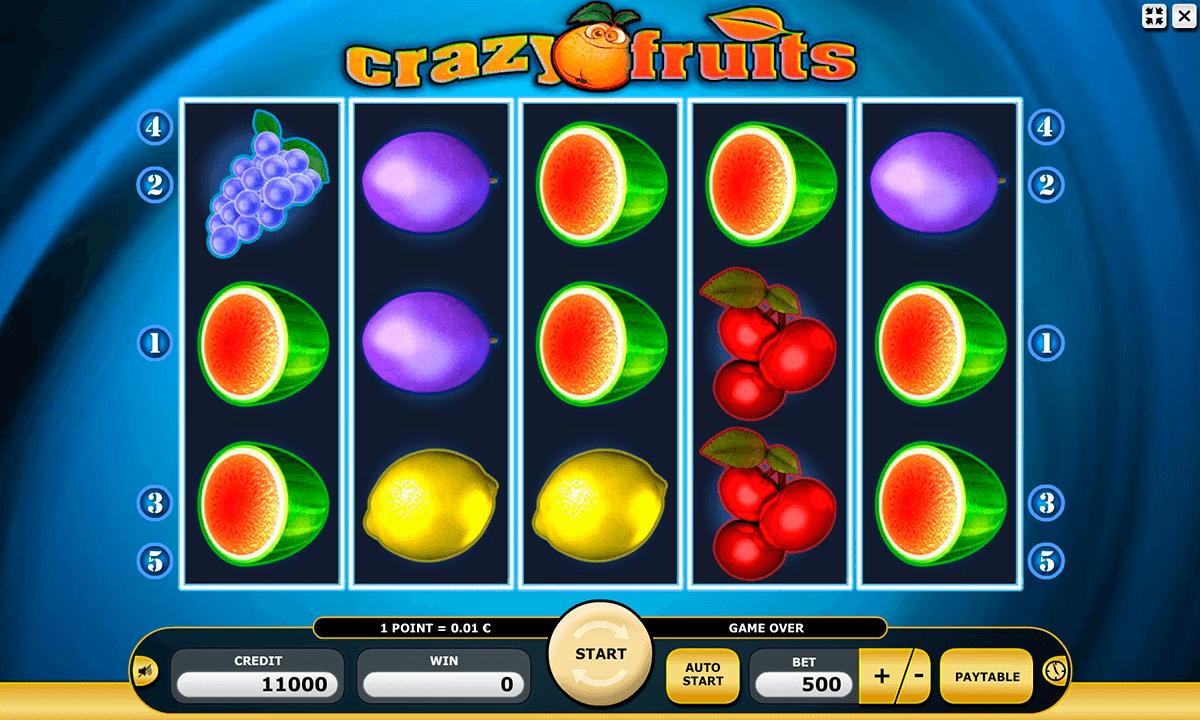 crazy fruits kajot