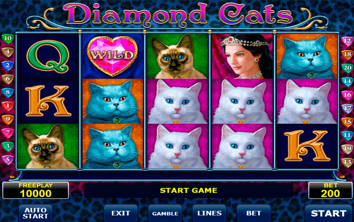 diamond cats amatic