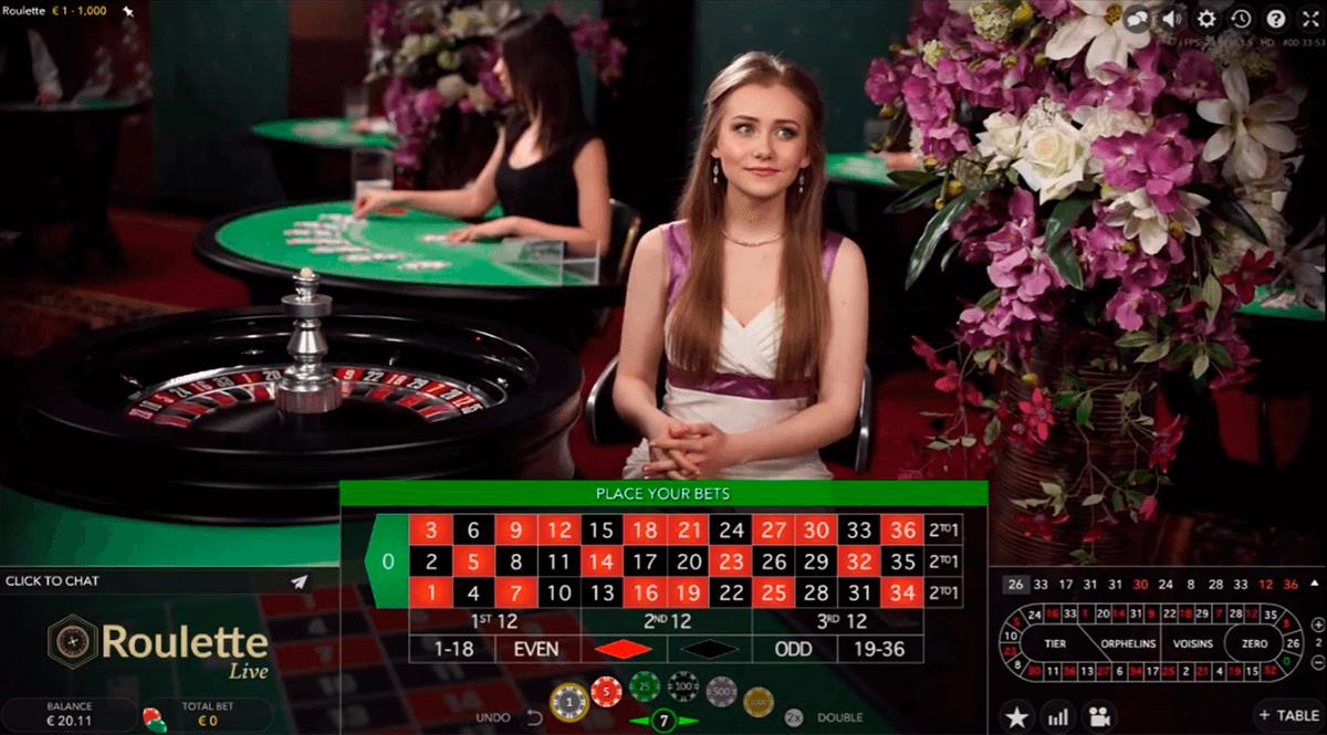 european roulette evolution gaming