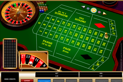 french roulette microgaming