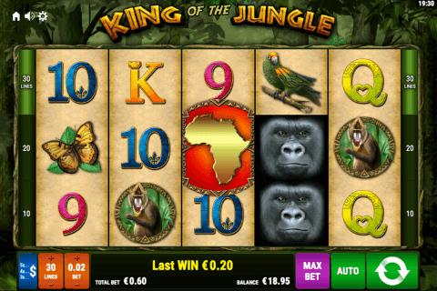 king of the jungle bally wulff