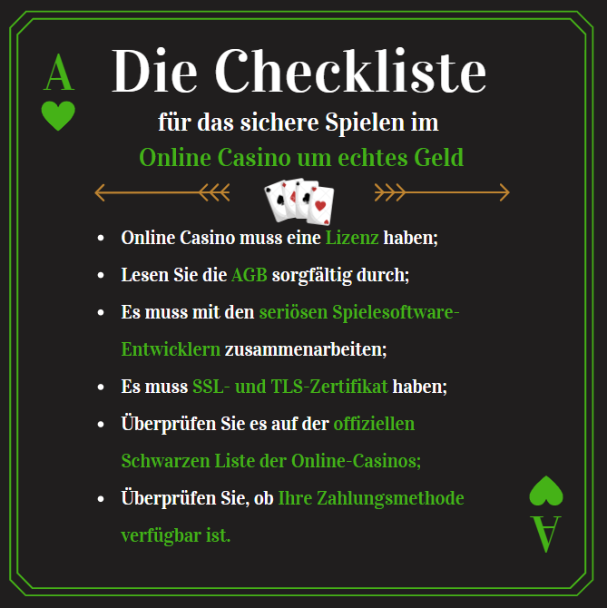Online Casino Schweiz zu spielen