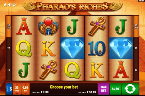 pharaos riches bally wulff