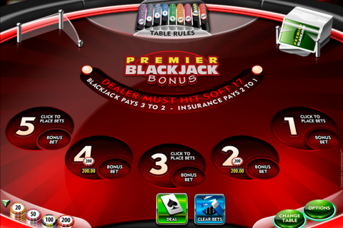 premier blackjack multihand euro bonus gold microgaming