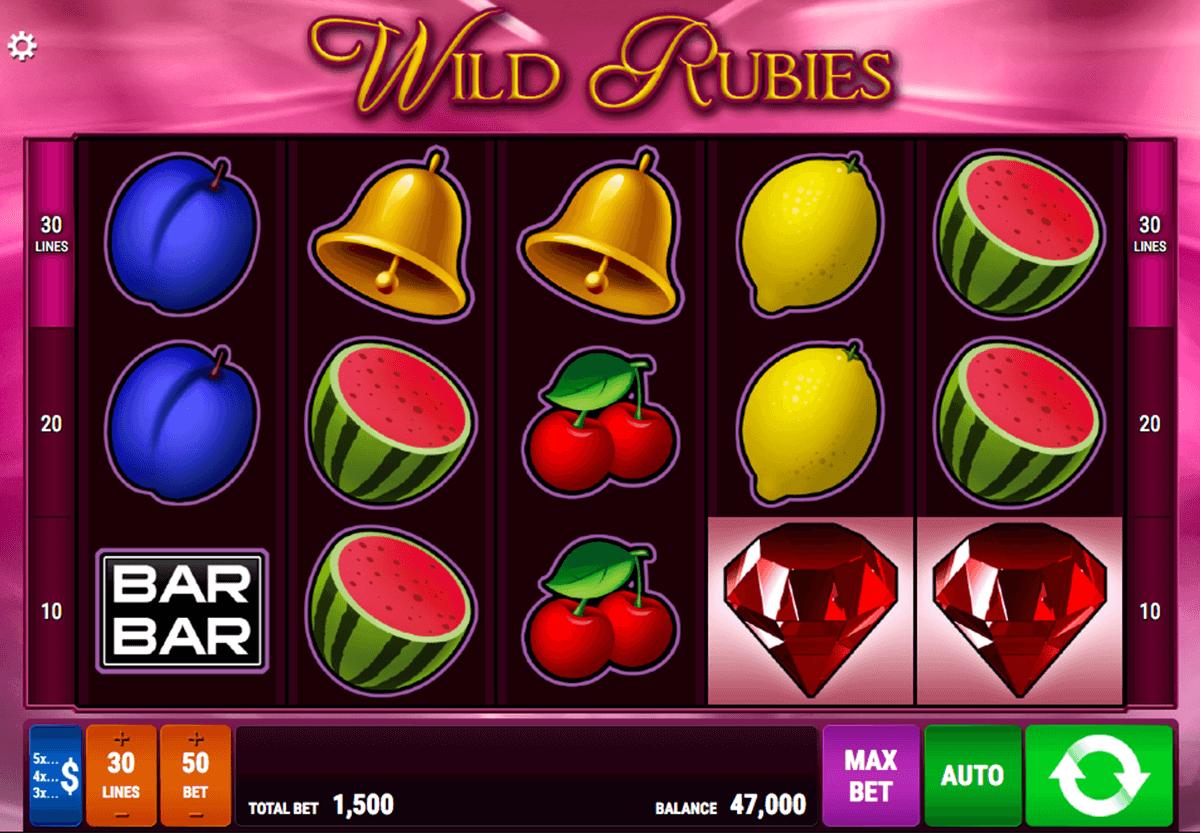 wild rubies bally wulff